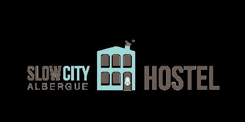 slow city hostel logo