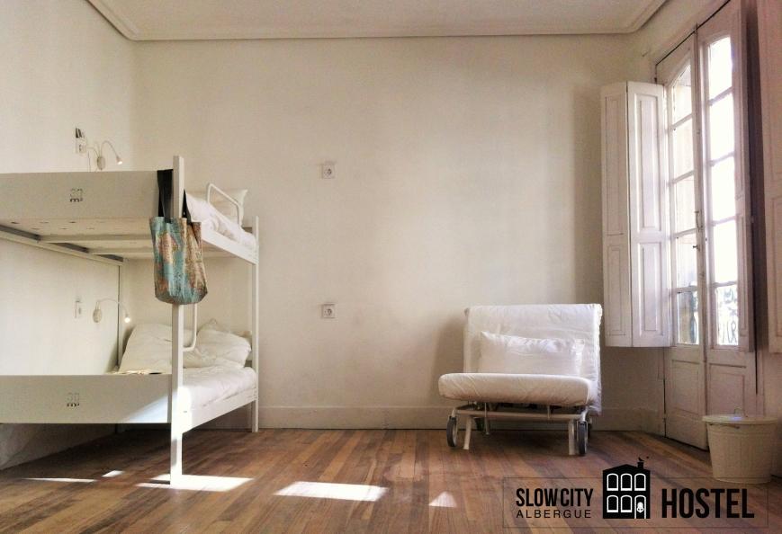 slow city hostel Pontevedra dorm