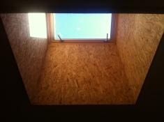 Ceiling big window